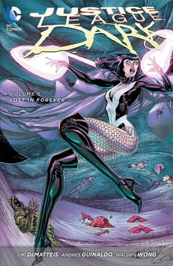 Cover for the Justice League Dark: Lost in Forever Trade Paperback