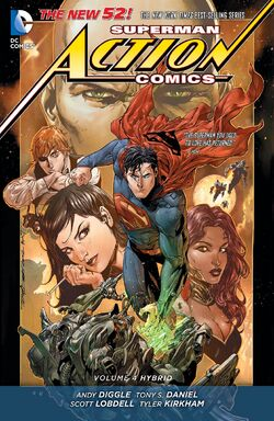Cover for the Action Comics: Hybrid Trade Paperback
