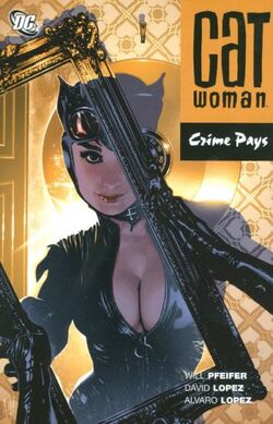 Cover for the Catwoman: Crime Pays Trade Paperback