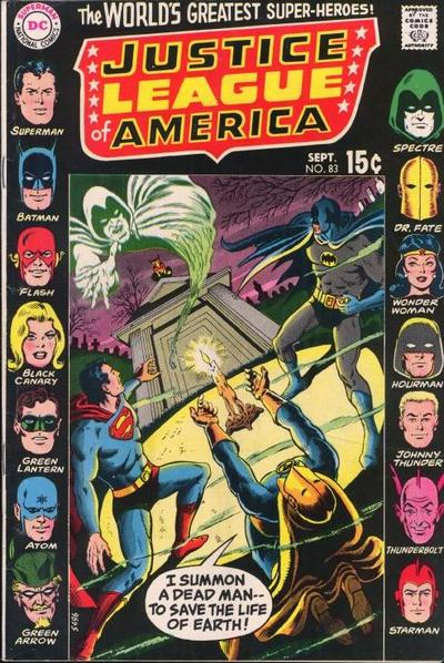 Image result for Justice League of America #83