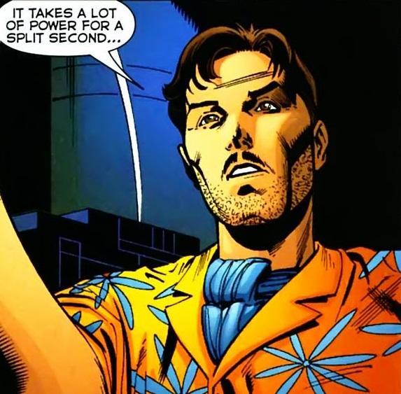 Thomas Oscar Morrow (New Earth)   DC Database   FANDOM