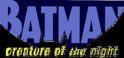 Batman - Creature of the Night (2017) logo
