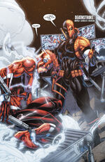 Deathstroke makes Wally an offer.