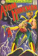 Atom and Hawkman 40