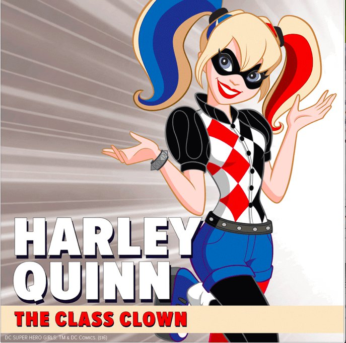 Image result for harley quinn dc superhero girls