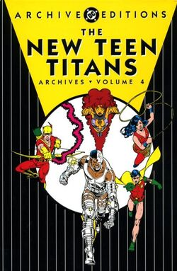 Cover for the New Teen Titans Archives Vol 4 Trade Paperback