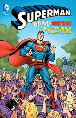Cover for the Superman: The Power Within Trade Paperback