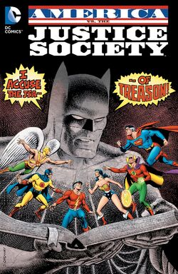 Cover for the America vs. The Justice Society Trade Paperback