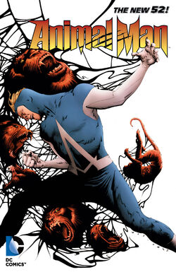 Cover for the Animal Man: Splinter Species Trade Paperback