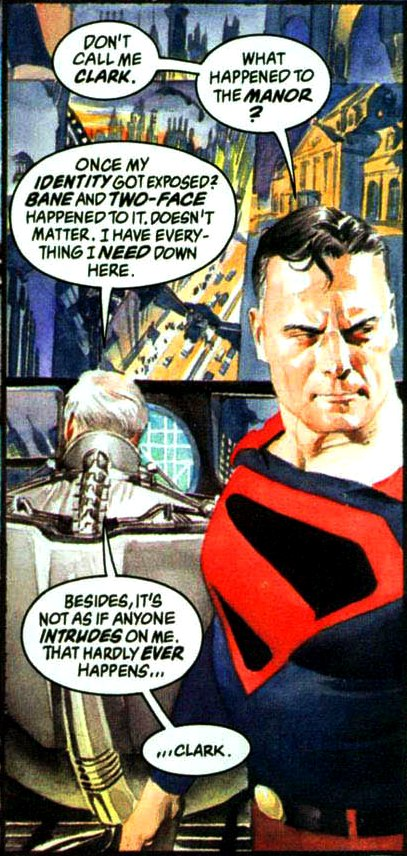 image bane two face kingdom come mention jpg dc database
