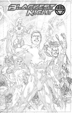 Cover for the Blackest Night Unwrapped Deluxe Edition Trade Paperback