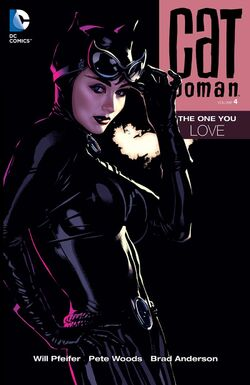 Cover for the Catwoman: The One You Love Trade Paperback