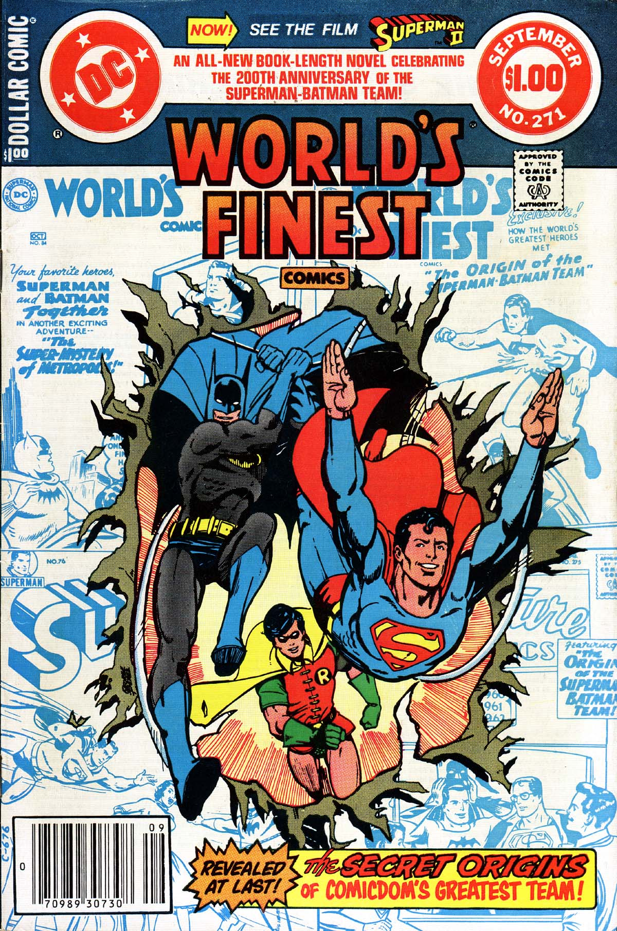 Image result for World's Finest #271