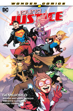 Cover for the Young Justice: Gemworld Trade Paperback