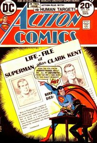 Superman's unpublished obituary reveals his secret identity as Clark Kent