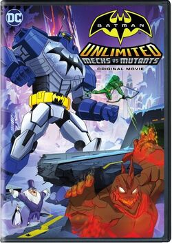 Batman Unlimited Mechs vs. Mutants