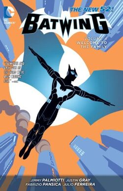 Cover for the Batwing: Welcome to the Family Trade Paperback