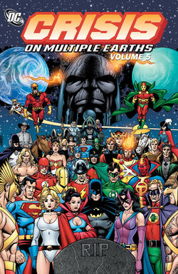 Cover for the Crisis on Multiple Earths Vol. 5 Trade Paperback