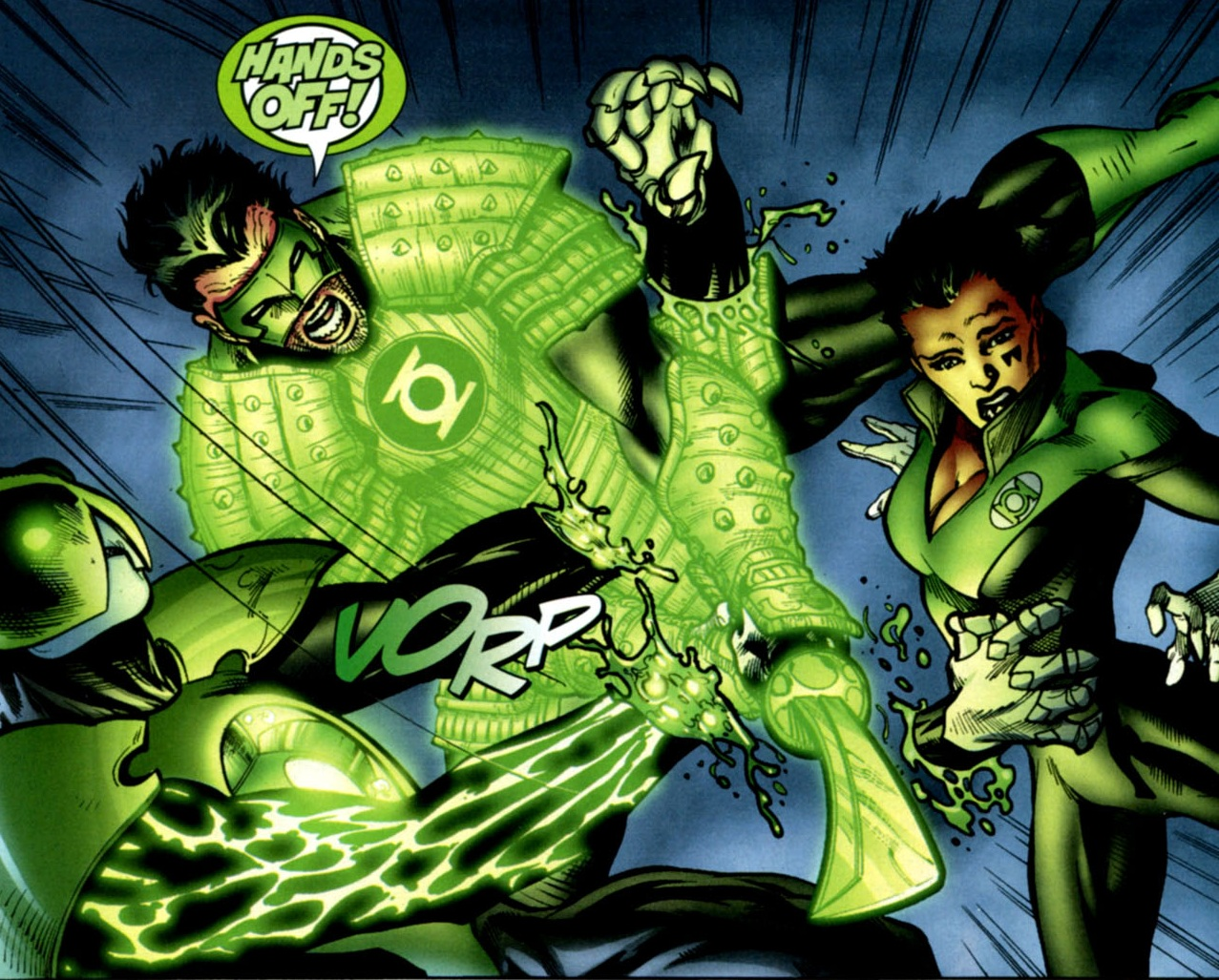 Kyle Rayner New Earth Dc Database Fandom Powered By Wikia