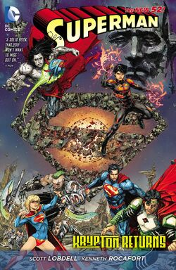 Cover for the Superman: Krypton Returns Trade Paperback