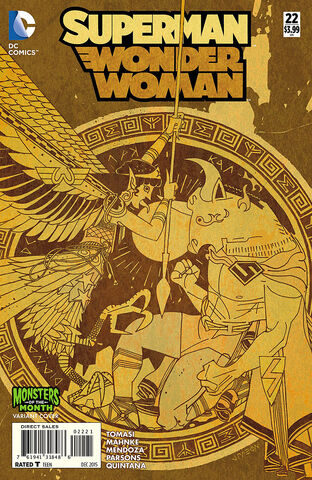 File:Superman Wonder Woman Vol 1 22 Monsters of the Month Variant.jpg