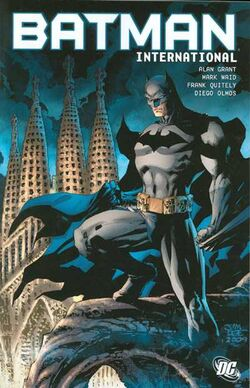 Cover for the Batman International Trade Paperback