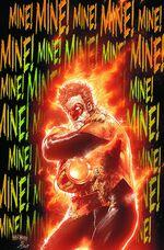 Hal as an Orange Lantern
