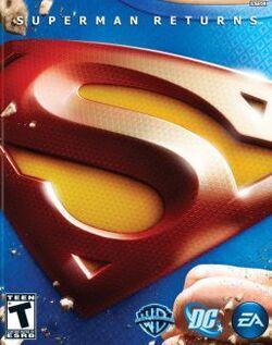 Superman Returns coverart