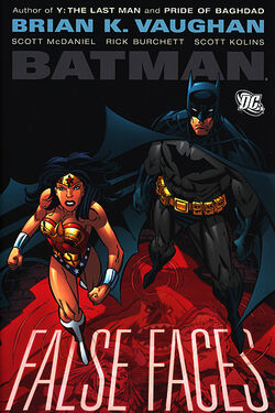 Cover for the Batman: False Faces Trade Paperback