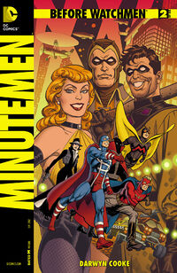 Before Watchmen Minutemen Vol 1 2 Variant A