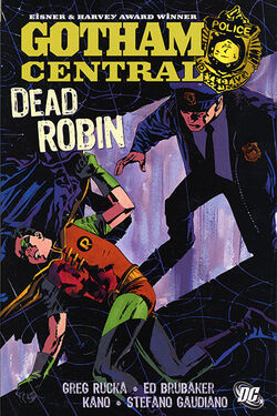 Cover for the Gotham Central Vol 5: Dead Robin Trade Paperback