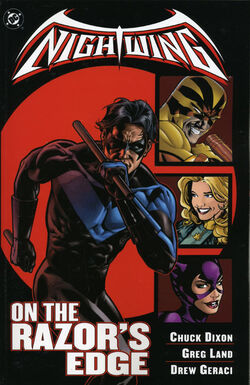Cover for the Nightwing: On the Razor's Edge Trade Paperback