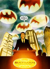 Bruce Wayne goes public with Batman Inc.