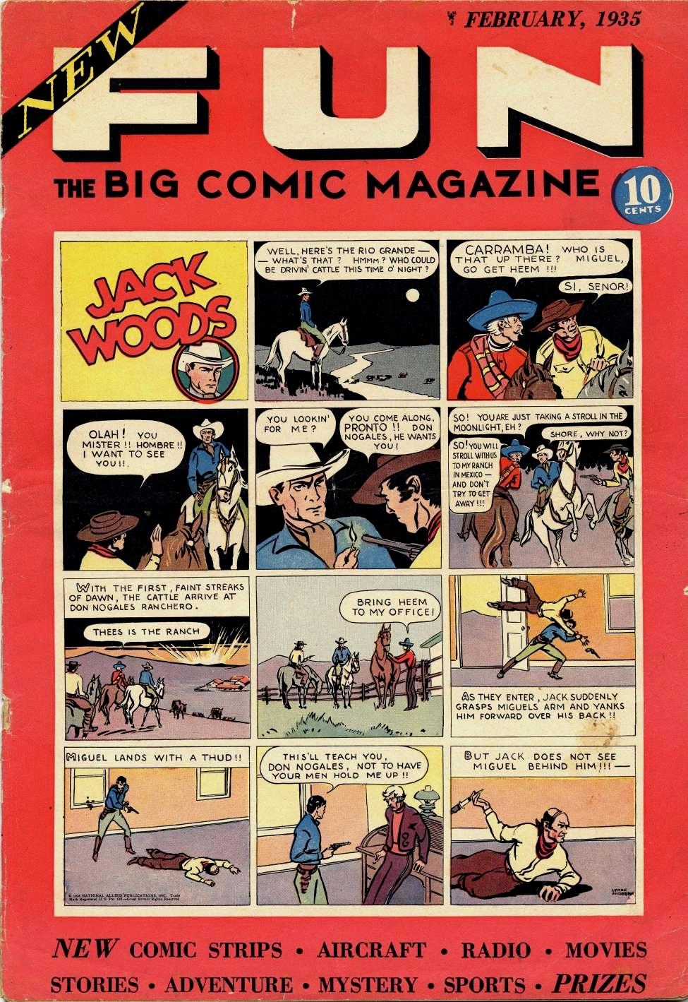 New Fun Comics Vol 1   DC Database   Fandom
