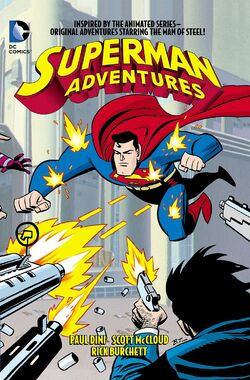 Cover for the Superman Adventures Vol. 1 Trade Paperback
