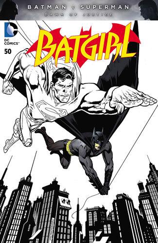 Pencils and Ink [[Batman v Superman: Dawn of Justice|Batman v Superman]] Variant