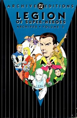 Cover for the Legion of Super-Heroes Archives Vol. 5 Trade Paperback