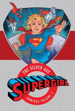 Cover for the Supergirl: The Silver Age Omnibus Vol. 2 Trade Paperback