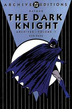 Cover for the Batman: The Dark Knight Archives Vol 1 Trade Paperback