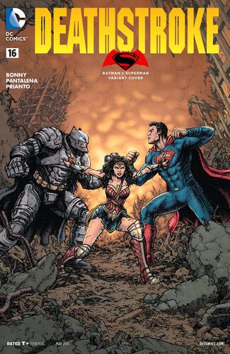 [[Batman v Superman: Dawn of Justice|Batman v Superman]] Variant