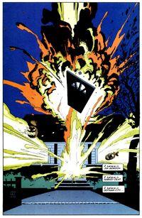 Dent House explodes