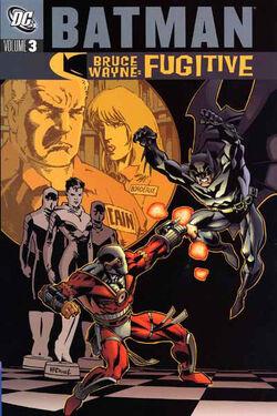 Cover for the Batman: Bruce Wayne - Fugitive Vol 3 Trade Paperback