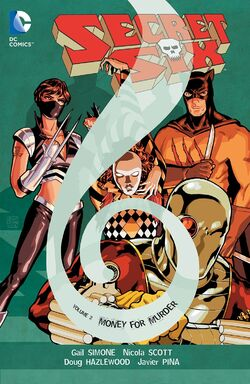 Cover for the Secret Six: Money for Murder Trade Paperback