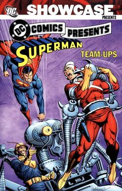Cover for the Showcase Presents: DC Comics Presents Superman Team-Ups Vol. 1 Trade Paperback