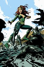 Mera is attacked by the sea-changed