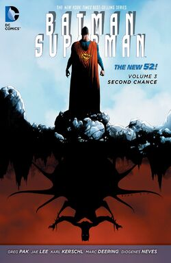 Cover for the Batman/Superman: Second Chance Trade Paperback