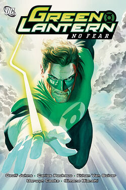 Cover for the Green Lantern: No Fear Trade Paperback