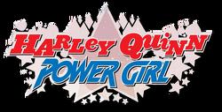 Harley Quinn Power Girl (2015) logo