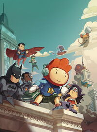 Scribblenauts Unmasked A Crisis of Imagination Vol 1 1 Textless