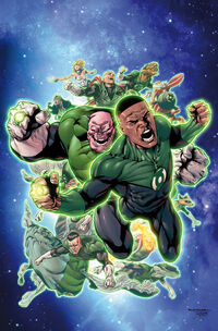 Hal Jordan and the Green Lantern Corps Vol 1 2 Textless